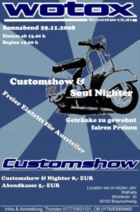 2. Wotox SC Customshow & Soul Nighter