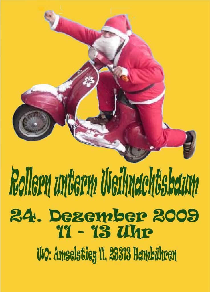 Rollern unterm Weihnachtsbaum 2009